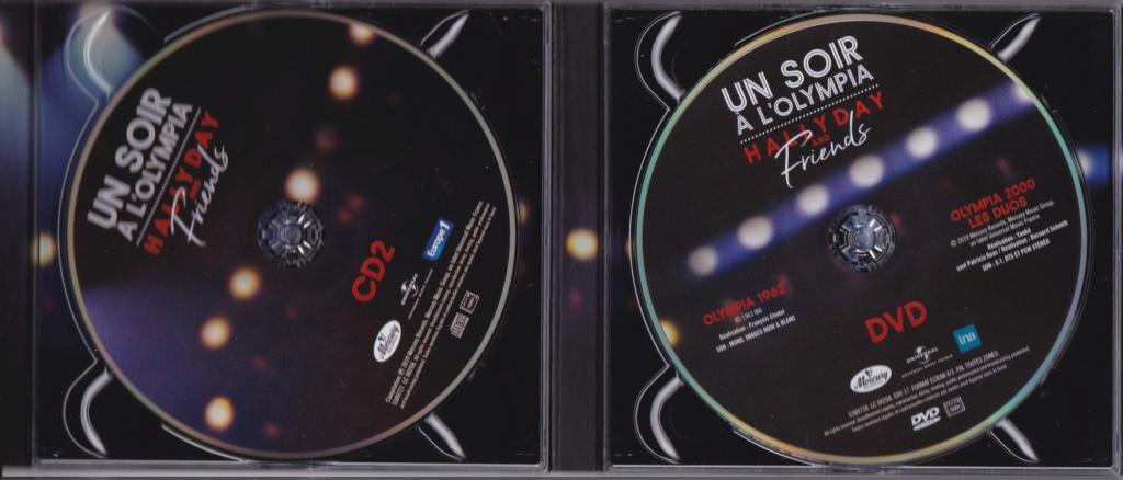 UN SOIR A L 'OLYMPIA - HALLYDAY AND FRIENDS ( 2 CD + 1 DVD ) Img_0067