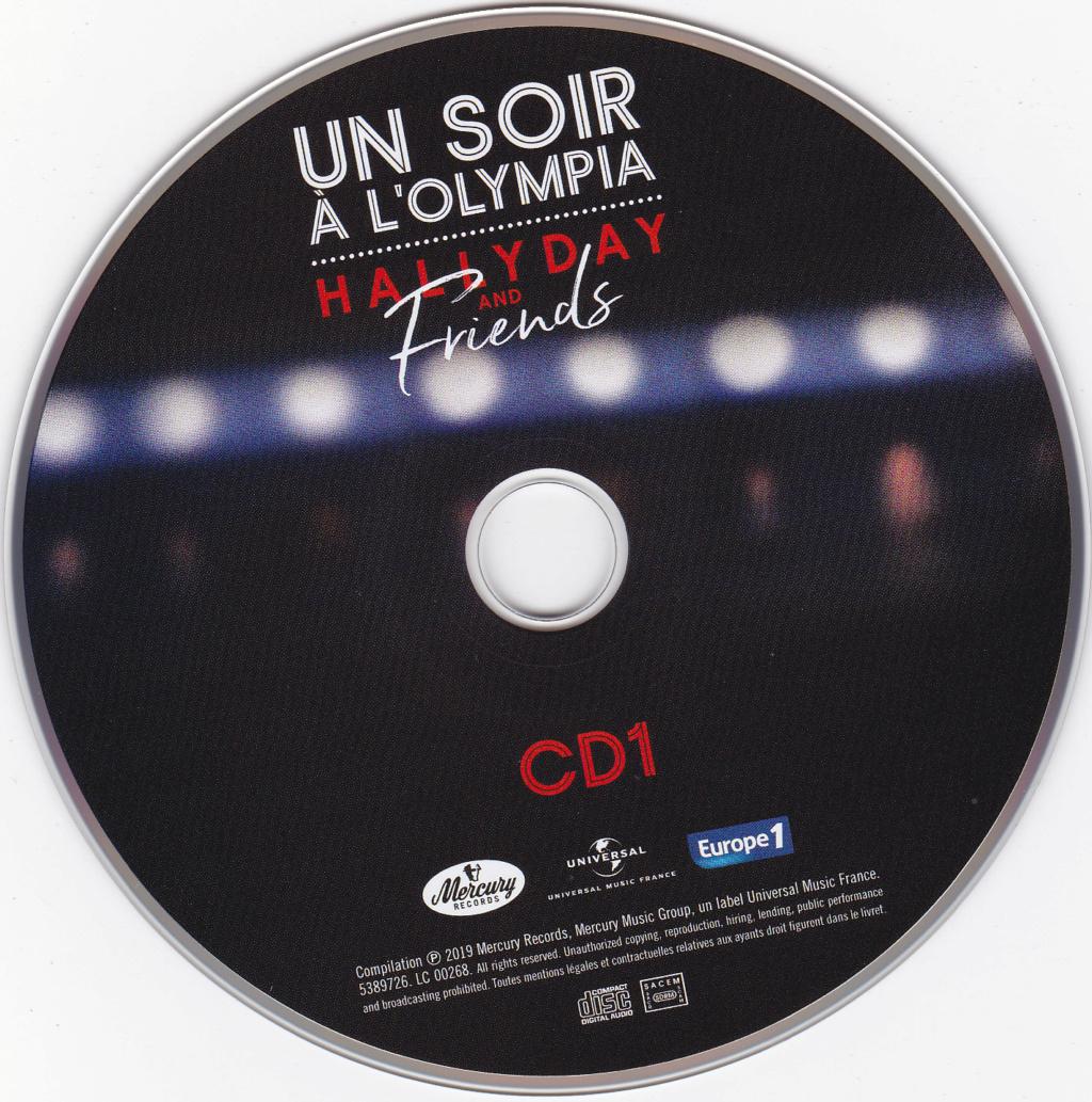 UN SOIR A L 'OLYMPIA - HALLYDAY AND FRIENDS ( 2 CD + 1 DVD ) Img_0073