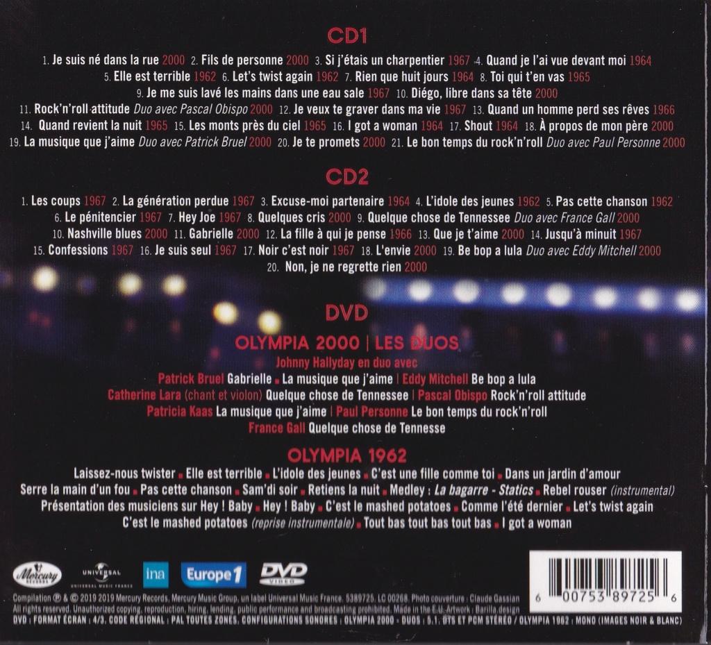 UN SOIR A L 'OLYMPIA - HALLYDAY AND FRIENDS ( 2 CD + 1 DVD ) Img_0074