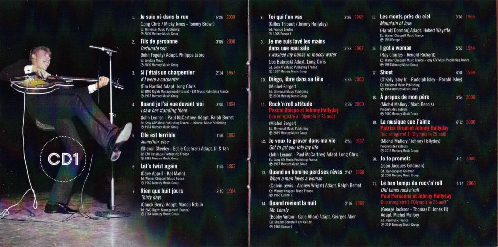 UN SOIR A L 'OLYMPIA - HALLYDAY AND FRIENDS ( 2 CD + 1 DVD ) Img_0080