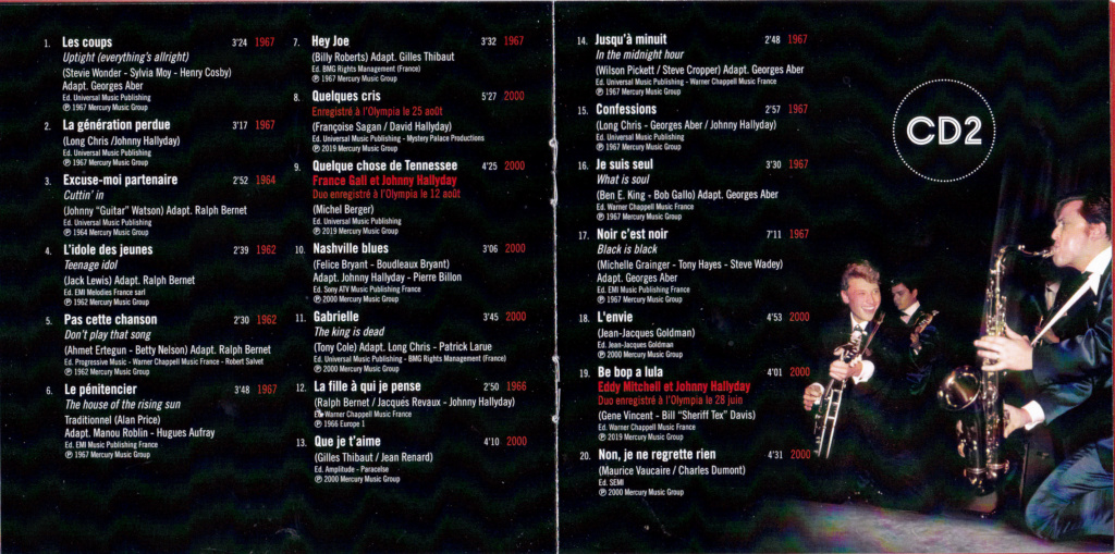 UN SOIR A L 'OLYMPIA - HALLYDAY AND FRIENDS ( 2 CD + 1 DVD ) Img_0081