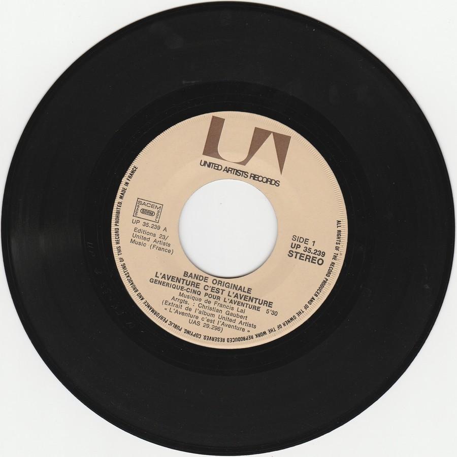 L'AVENTURE C'EST L'AVENTURE ( SP - LP )( TOUTES LES EDITIONS )( 1972-2018 ) Img_2138