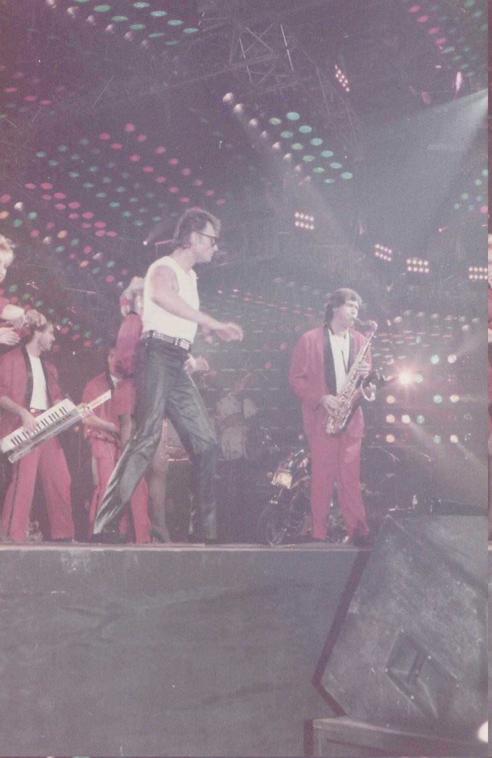 LES CONCERTS DE JOHNNY 'ZENITH 1985' ( JANVIER )( INEDIT ) Img_2510