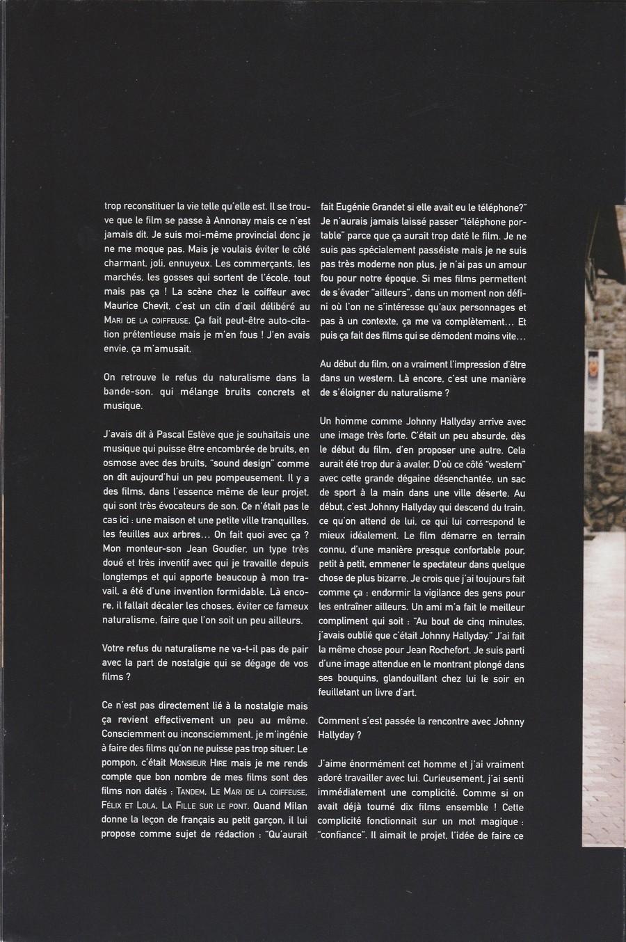 LES FILMS DE JOHNNY 'L'HOMME DU TRAIN' 2002 Img_2744