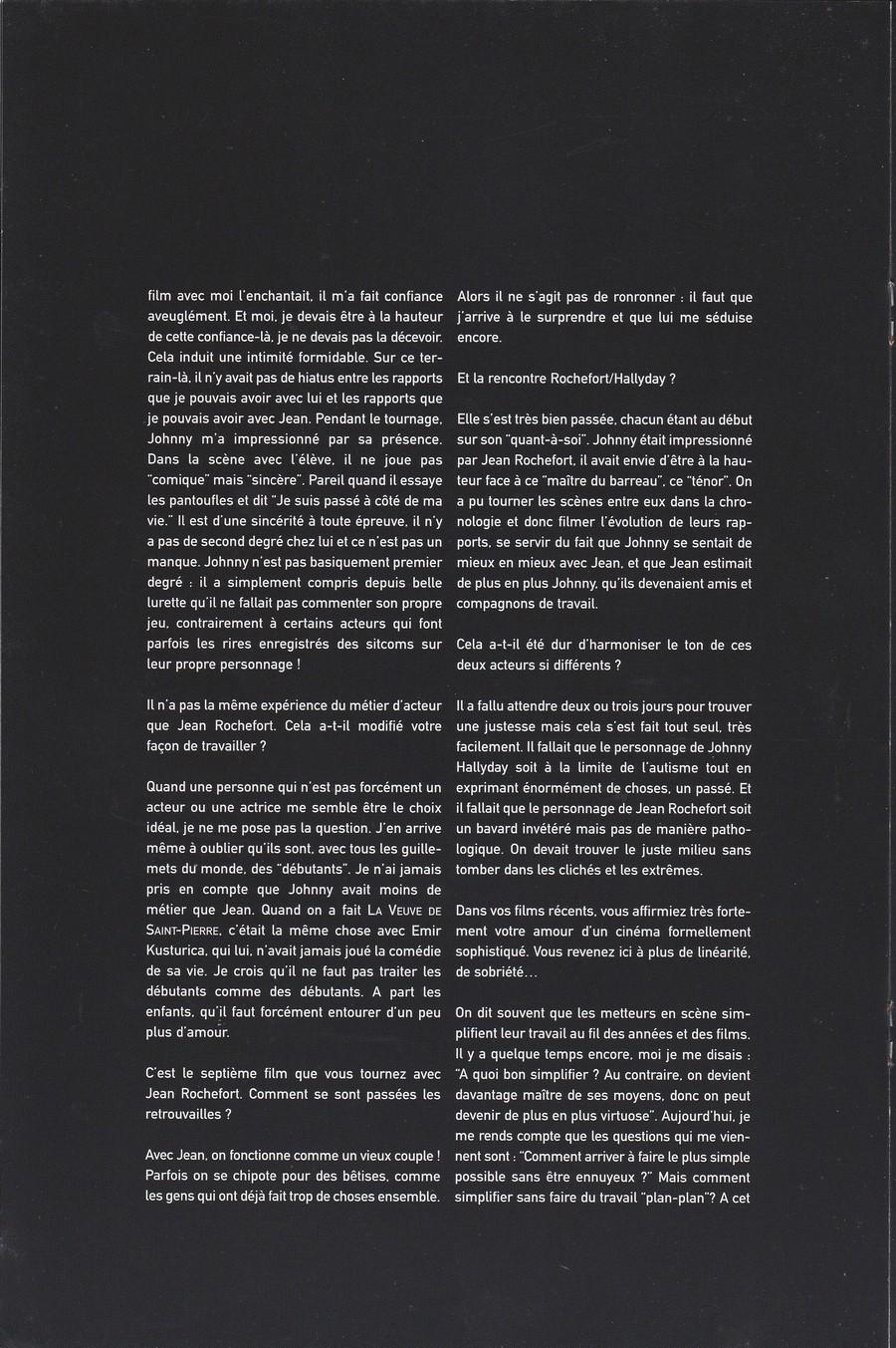 LES FILMS DE JOHNNY 'L'HOMME DU TRAIN' 2002 Img_2745