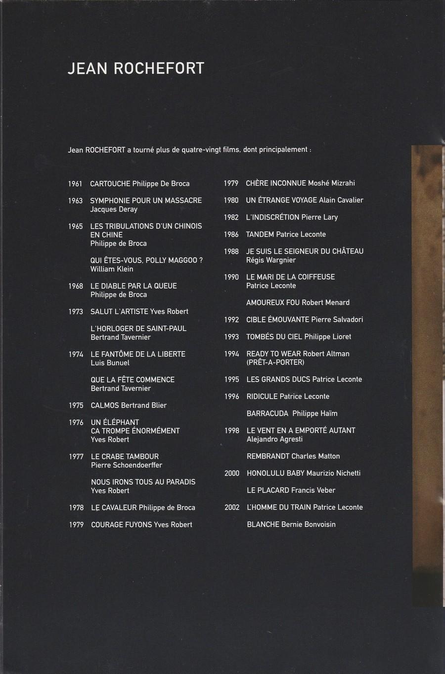 LES FILMS DE JOHNNY 'L'HOMME DU TRAIN' 2002 Img_2746