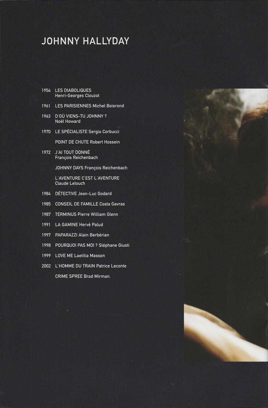 LES FILMS DE JOHNNY 'L'HOMME DU TRAIN' 2002 Img_2749