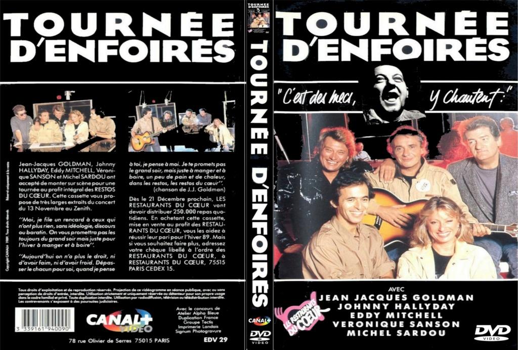 LES CONCERTS DE JOHNNY 'TOURNEE D'ENFOIRES, ZENITH 1989' Jaquet12