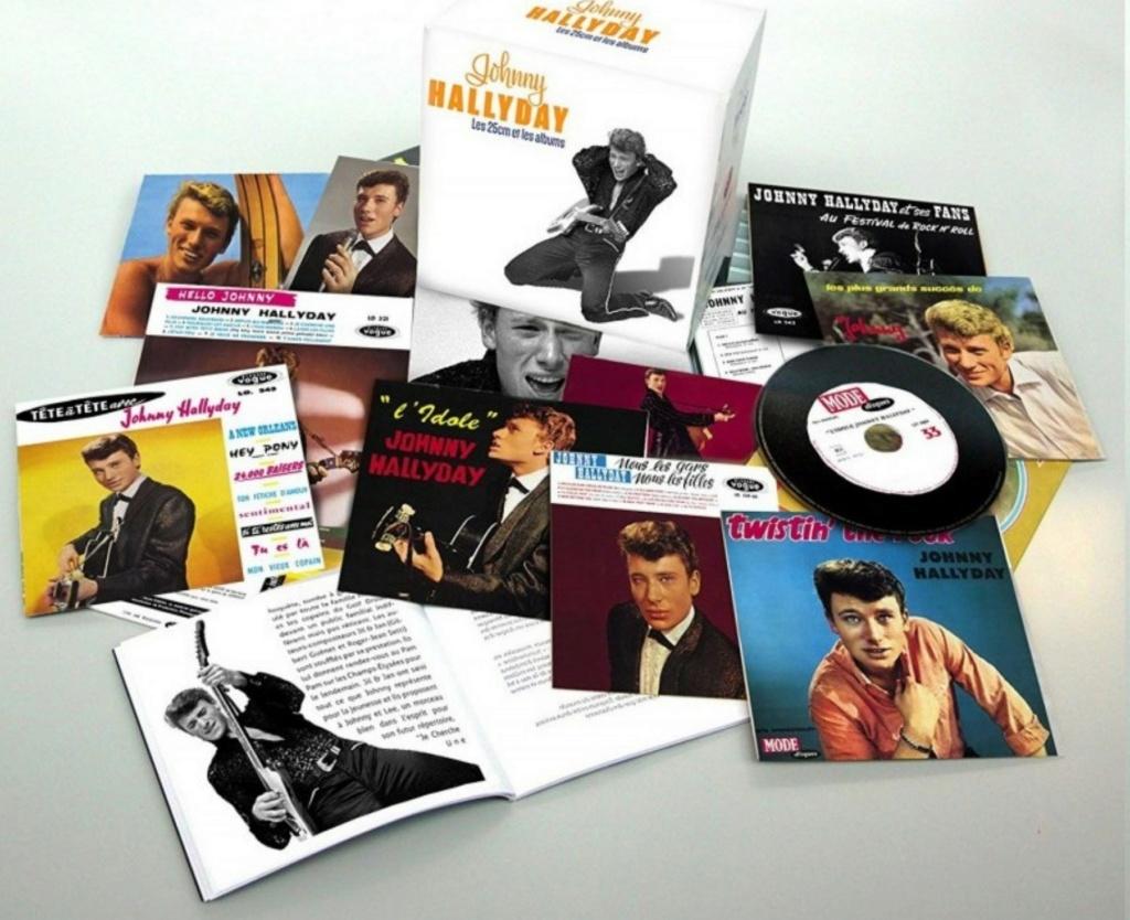 COFFRET 'LES 25CM ET LES 30CM VOGUE' ( COFFRET 10  CD ( 2012 ) Johnn102