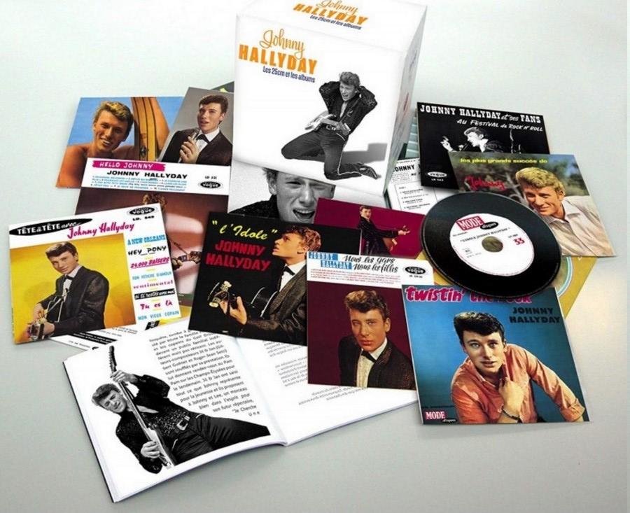 COFFRET 'LES 25CM ET LES 30CM VOGUE' ( COFFRET 10  CD ( 2012 ) Johnn104