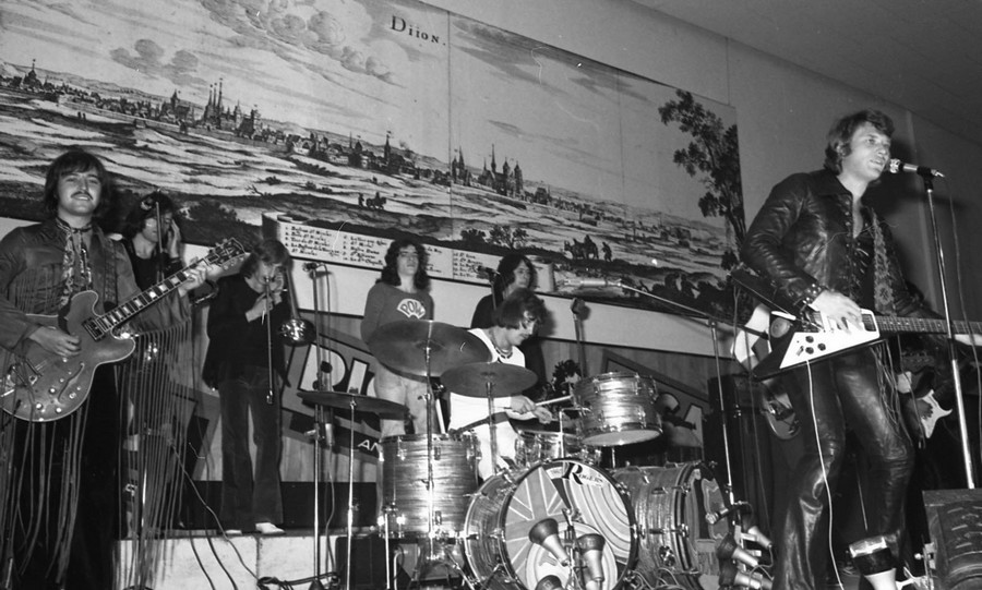 LES CONCERTS DE JOHNNY 'DIJON 1970' Johnn138
