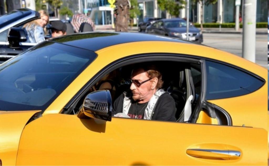 MERCEDES-AMG GT DE JOHNNY HALLYDAY ( 2016 ) Johnny66
