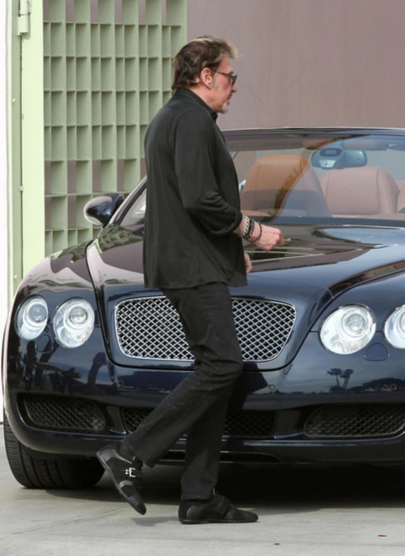 BENTLEY CONTINENTAL GT SPEED CONVERTIBLE DE JOHNNY HALLYDAY ( 2012 ) Johnny82