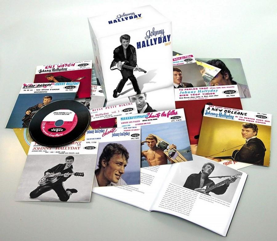 COFFRET 'LES EP VOGUE' ( COFFRET 15CD )( 2012 ) Johnny99