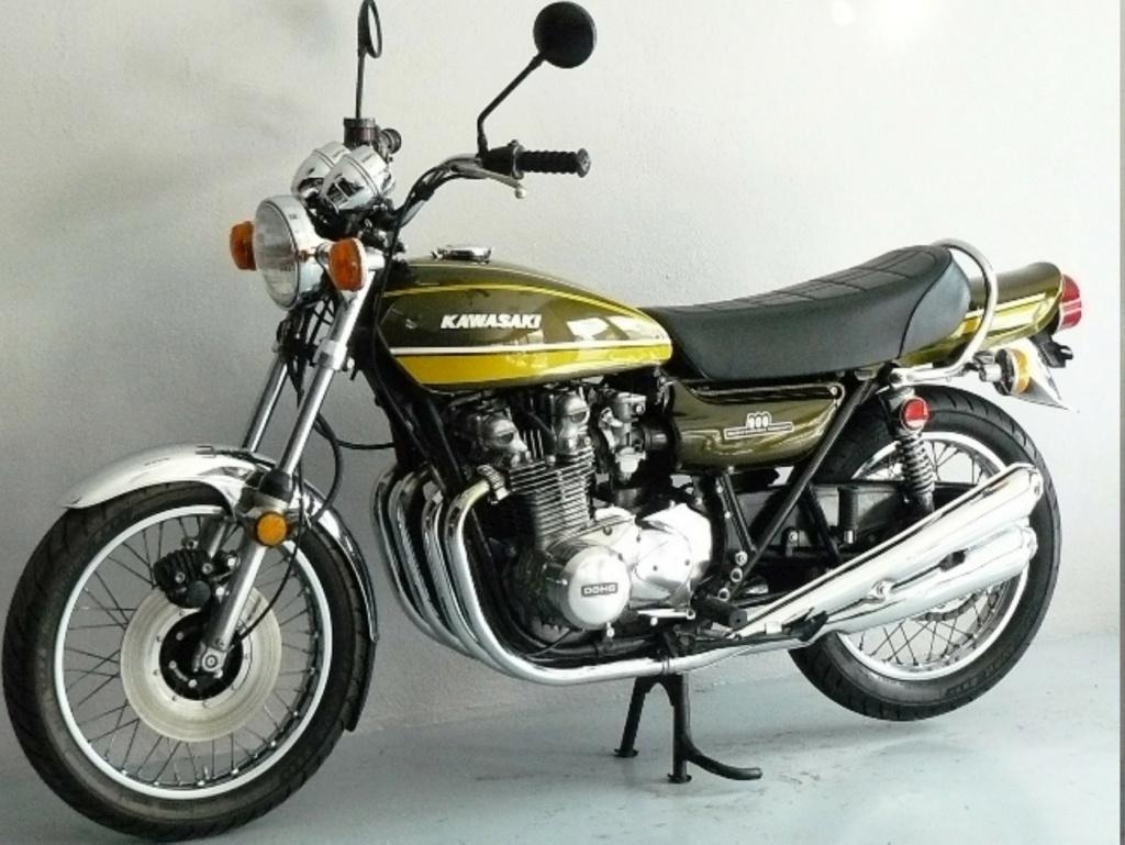 KAWASAKI 900 Z1 DE JOHNNY HALLYDAY ( 1974 ) Kawasa11