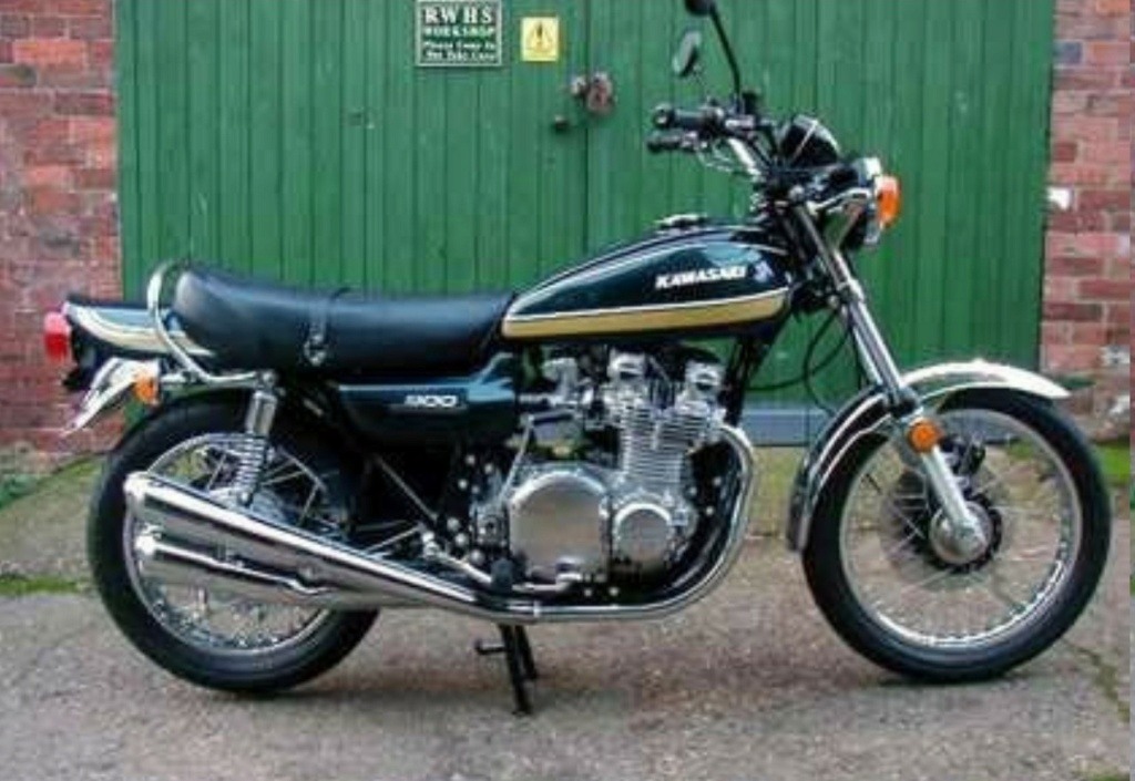 KAWASAKI 900 Z1 DE JOHNNY HALLYDAY ( 1974 ) Kawasa12