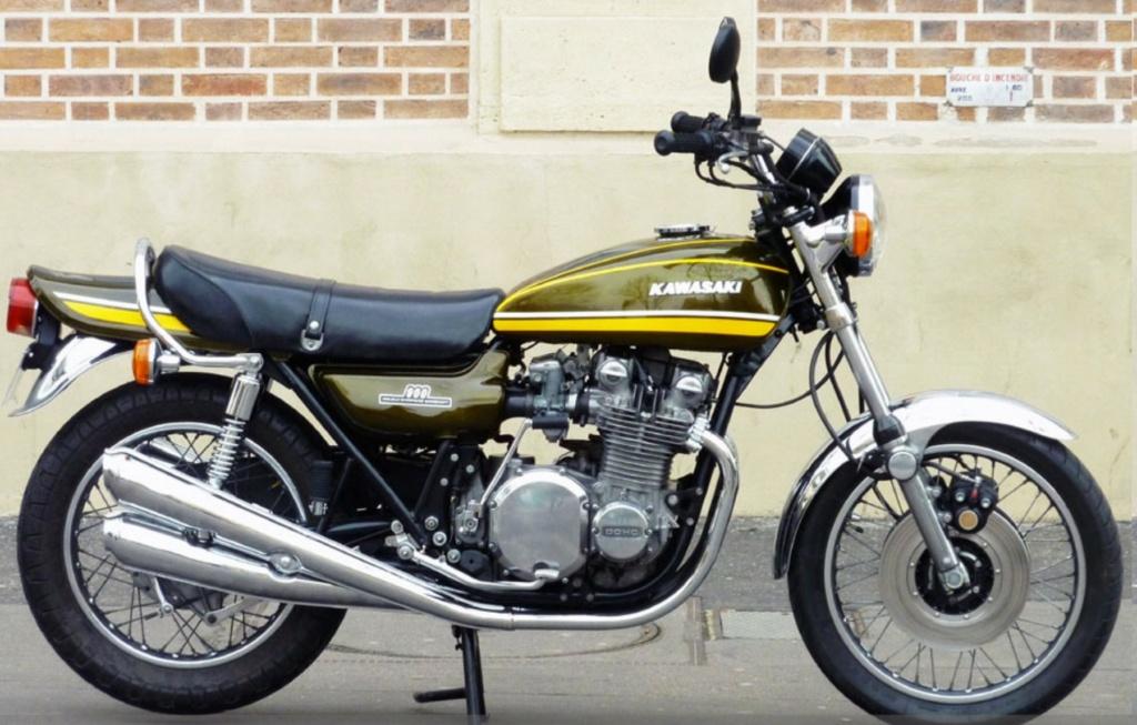 KAWASAKI 900 Z1 DE JOHNNY HALLYDAY ( 1974 ) Kawasa18