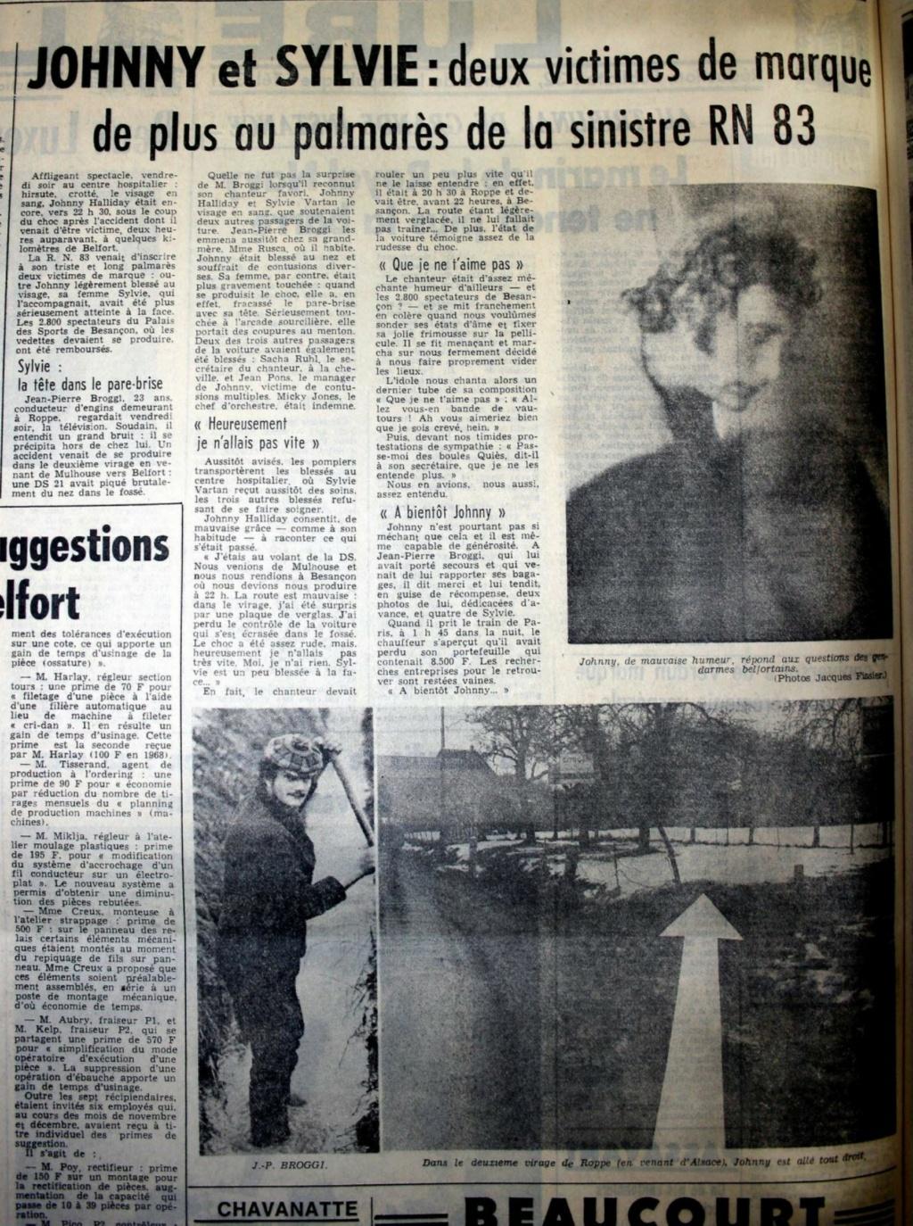 CITROËN DS 21 PALLAS DE JOHNNY HALLYDAY ( 1969 ) L-arti10