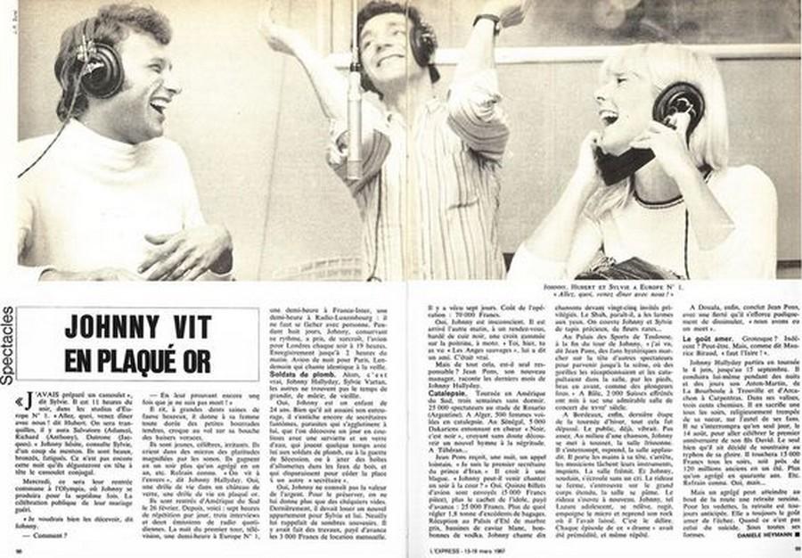 LES CONCERTS DE JOHNNY 'ROSARIO, ARGENTINE 1967' L_expr10