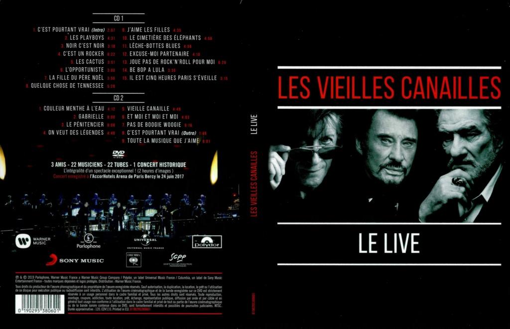 LES CONCERTS DE JOHNNY 'LES VIEILLES CANAILLES - 'ACCORHOTELS ARENA 2017' Les_vi10