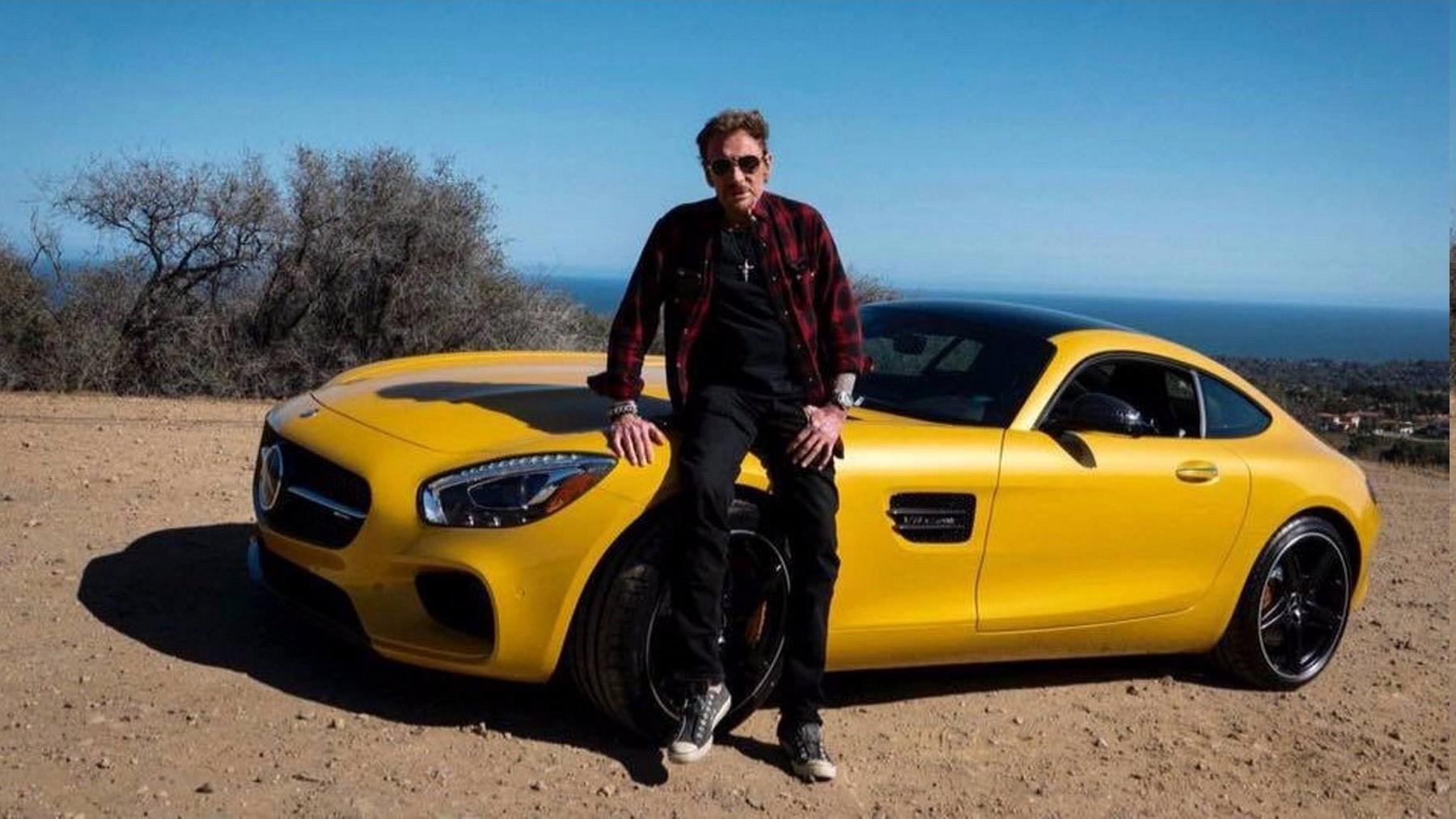 MERCEDES-AMG GT DE JOHNNY HALLYDAY ( 2016 ) Merced10