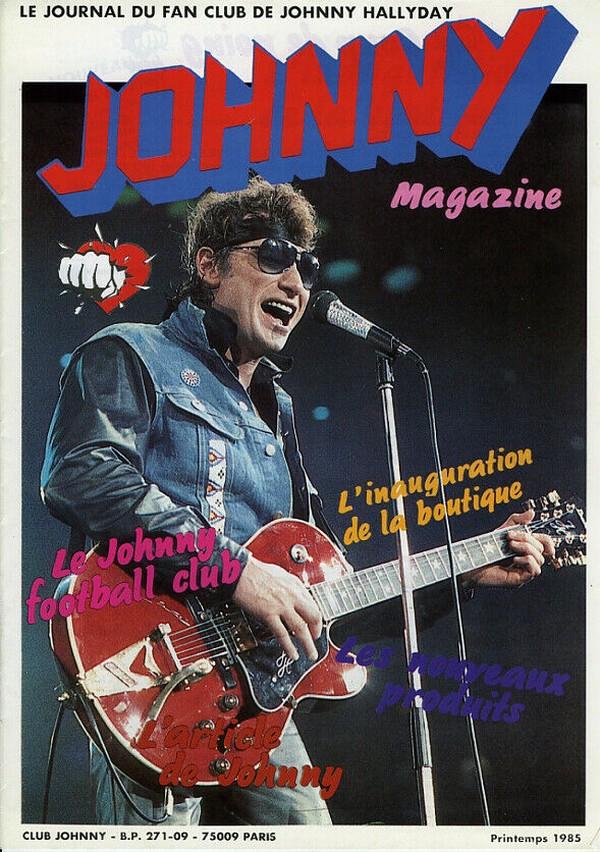 COUVERTURES DES 'JOHNNY MAGAZINE' ( 1985 - 1997 ) N01__p11
