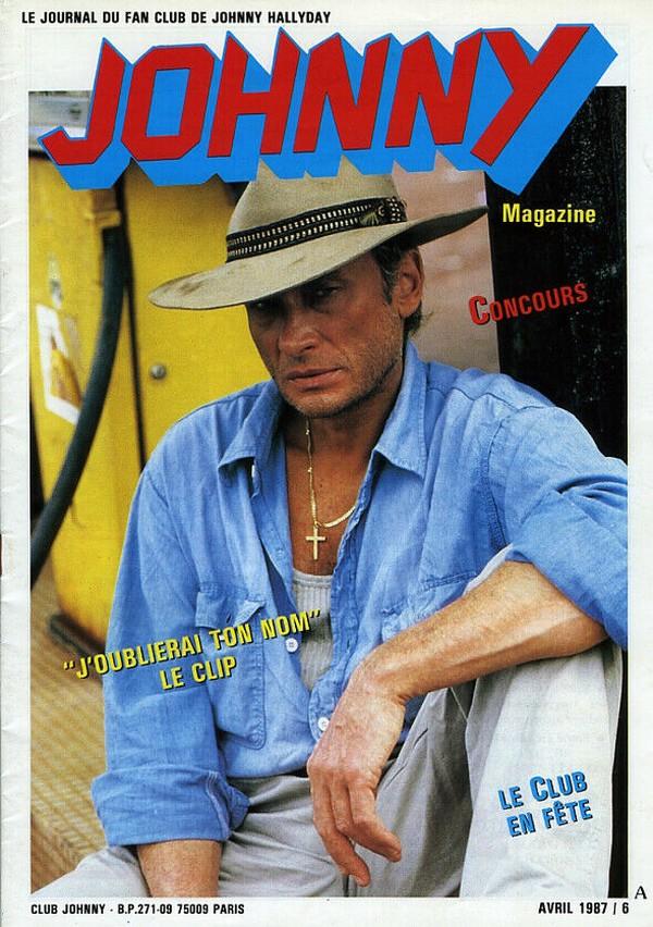 COUVERTURES DES 'JOHNNY MAGAZINE' ( 1985 - 1997 ) N06__a11