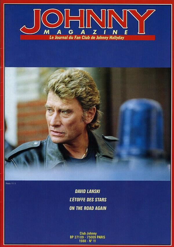 COUVERTURES DES 'JOHNNY MAGAZINE' ( 1985 - 1997 ) N11__110