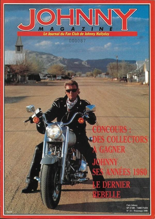 COUVERTURES DES 'JOHNNY MAGAZINE' ( 1985 - 1997 ) N14__p10