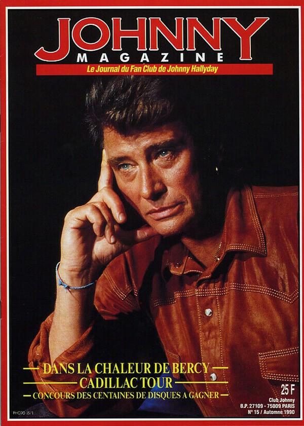 COUVERTURES DES 'JOHNNY MAGAZINE' ( 1985 - 1997 ) N15__a10