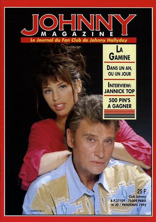 COUVERTURES DES 'JOHNNY MAGAZINE' ( 1985 - 1997 ) N20__p10