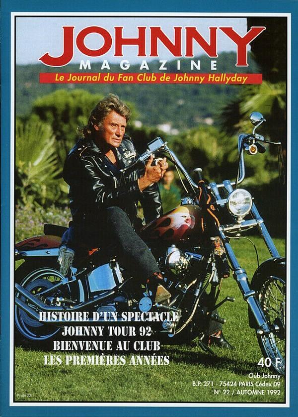 COUVERTURES DES 'JOHNNY MAGAZINE' ( 1985 - 1997 ) N22__a10
