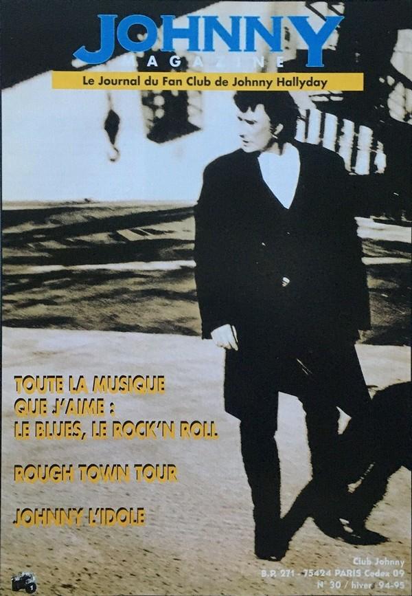 COUVERTURES DES 'JOHNNY MAGAZINE' ( 1985 - 1997 ) N30__h10