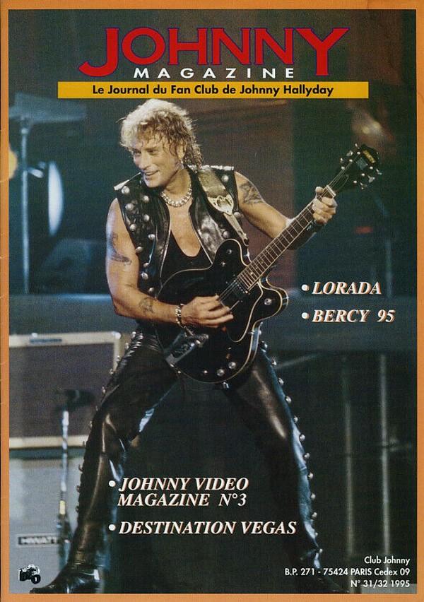 COUVERTURES DES 'JOHNNY MAGAZINE' ( 1985 - 1997 ) N31__310