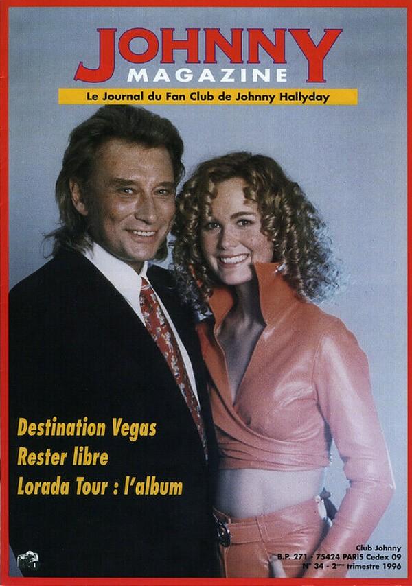 COUVERTURES DES 'JOHNNY MAGAZINE' ( 1985 - 1997 ) N34__210