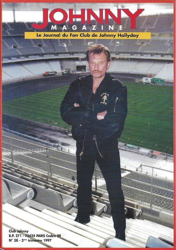 COUVERTURES DES 'JOHNNY MAGAZINE' ( 1985 - 1997 ) N38__310