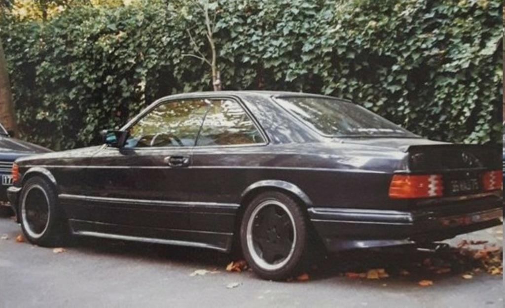 MERCEDES 560 SEC AMG DE JOHNNY HALLYDAY ( 1988 ) Ob_1bd11