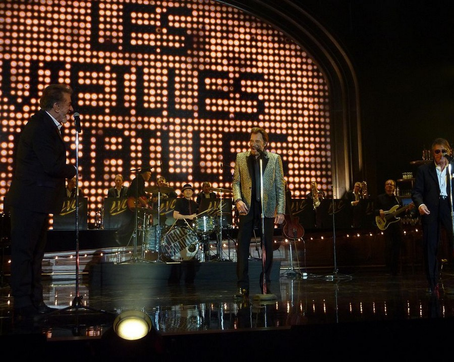 LES CONCERTS DE JOHNNY 'LES VIEILLES CANAILLES - 'PARIS 2014' P1180310