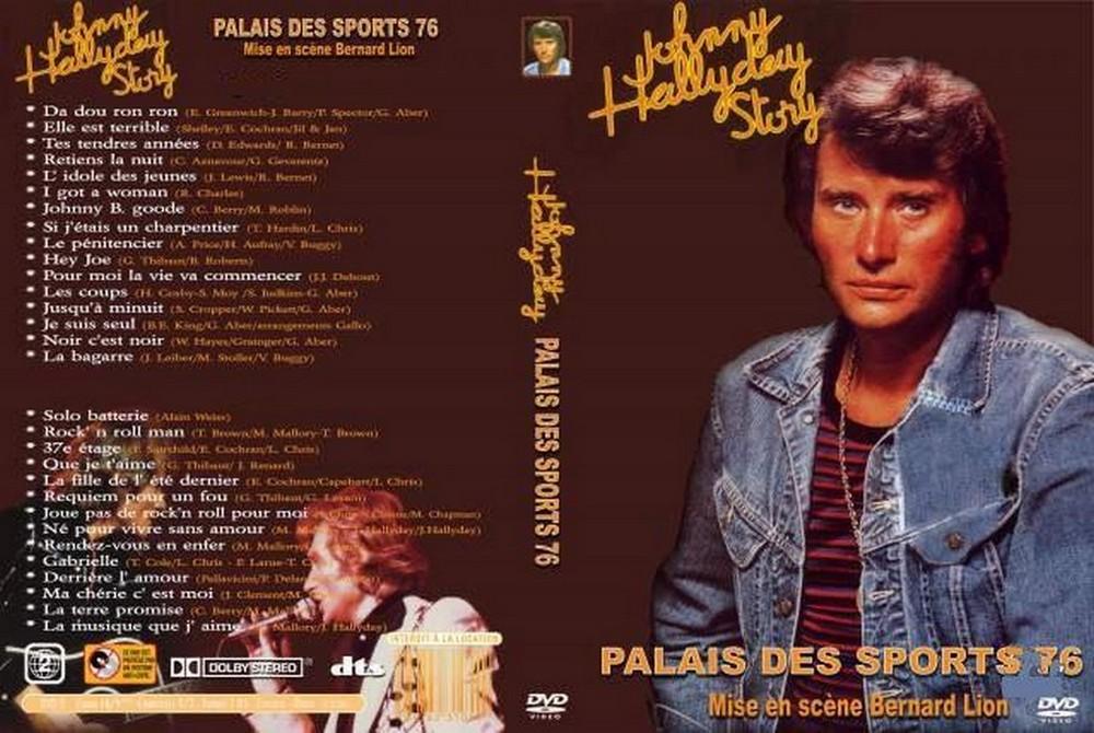 LES CONCERTS DE JOHNNY 'PALAIS DES SPORTS DE PARIS 1976' Palais22