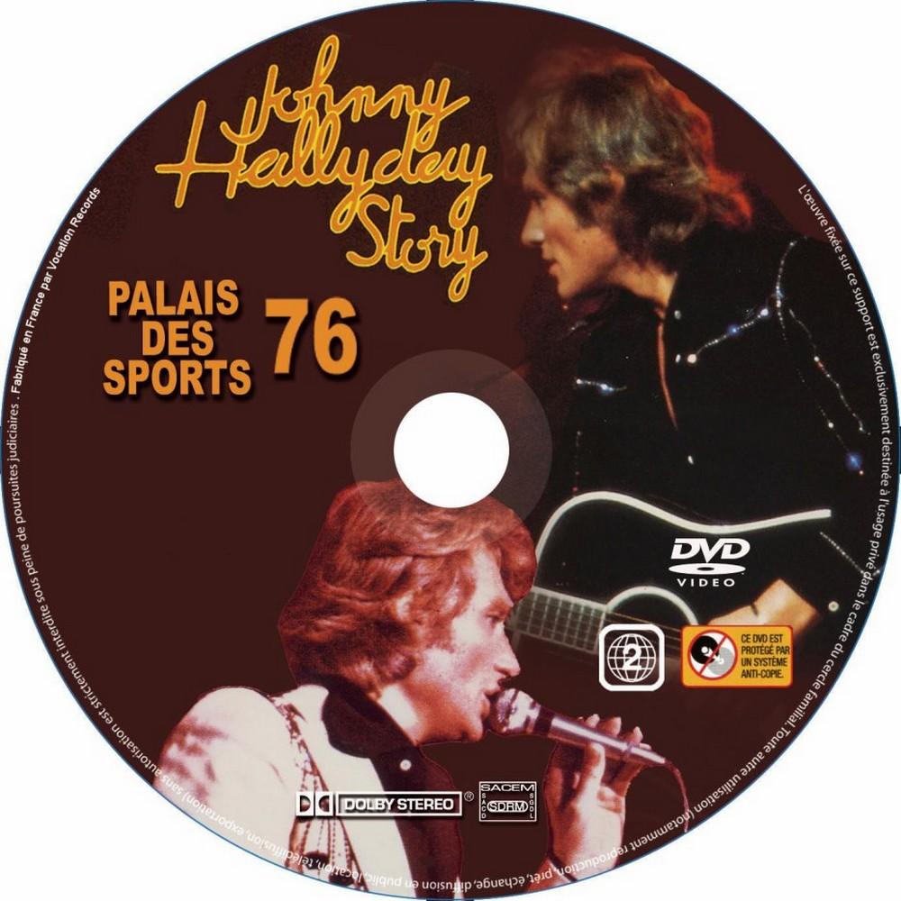 LES CONCERTS DE JOHNNY 'PALAIS DES SPORTS DE PARIS 1976' Palais23