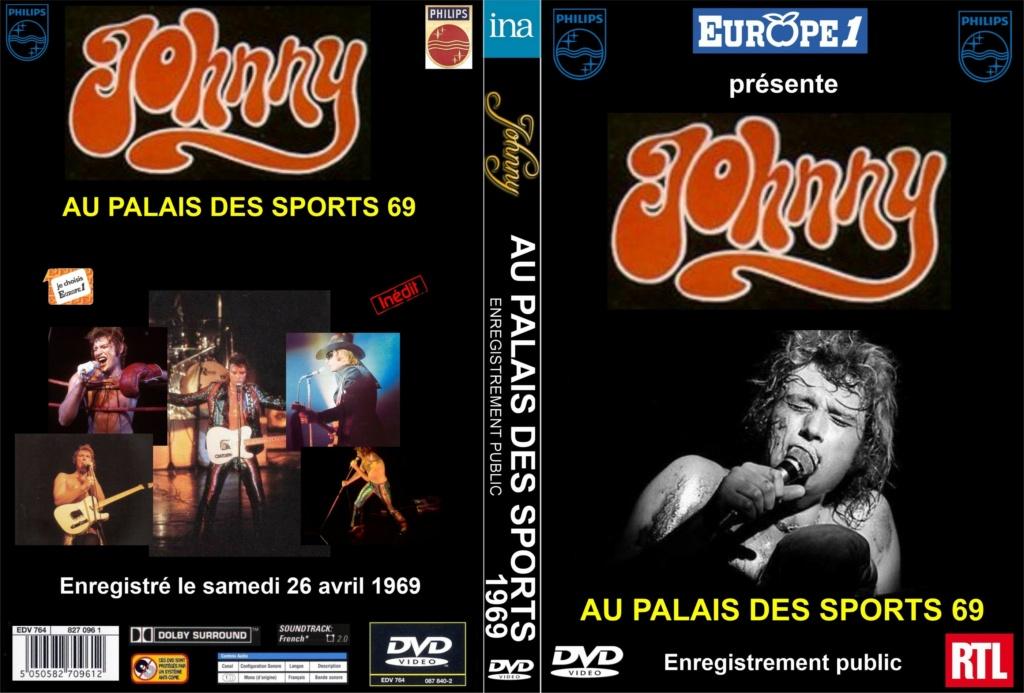 LES CONCERTS DE JOHNNY 'PALAIS DES SPORTS DE PARIS 1969' Palais28