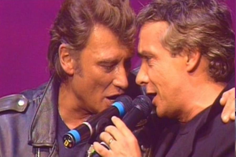 LES CONCERTS DE JOHNNY 'TOURNEE D'ENFOIRES, ZENITH 1989' Photos17