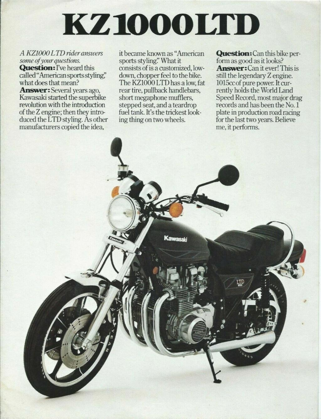 KAWASAKI KZ 1000 LTD DE JOHNNY HALLYDAY ( 1978 ) Qqo5hn13