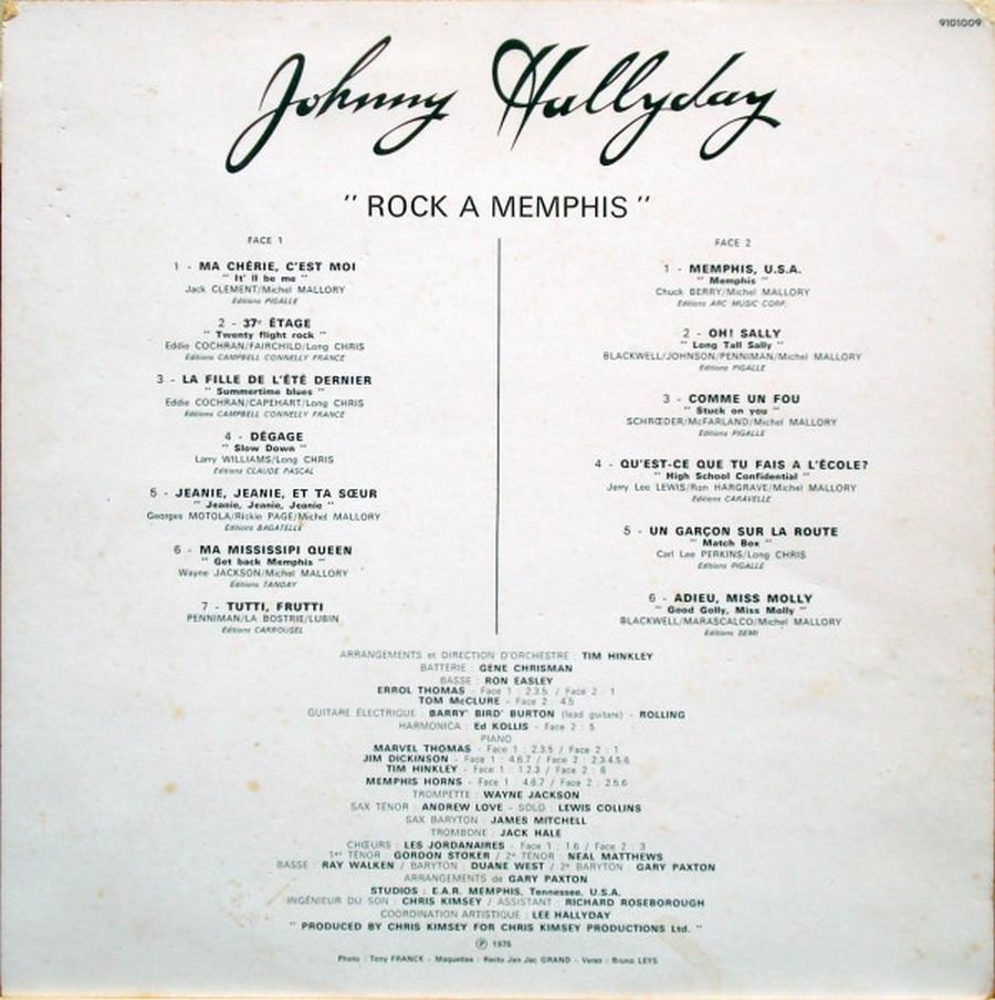 ROCK A MEMPHIS ( 33 TOURS )( TOUTES LES EDITIONS )( 1975 - 2020 ) R-248512