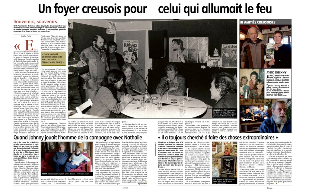 PROPRIETE OU A RESIDE JOHNNY HALLYDAY (8 /10 ) 'VALLIERE, CREUSE' ( 1982-1986 ) Rdjohn10