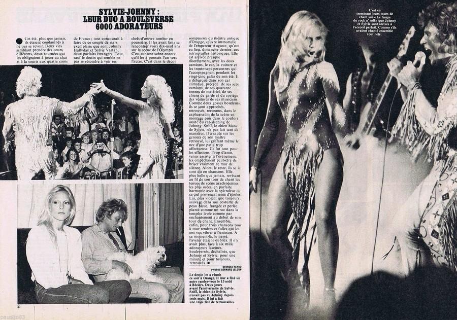 LES CONCERTS DE JOHNNY 'ORANGE 1980' S-l16045