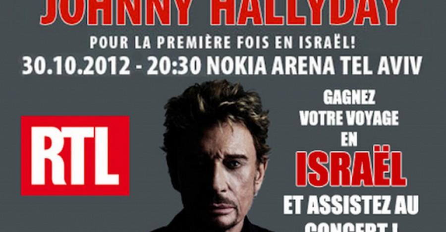 LES CONCERTS DE JOHNNY 'TEL AVIV, ISRAEL 2012' Sans1022