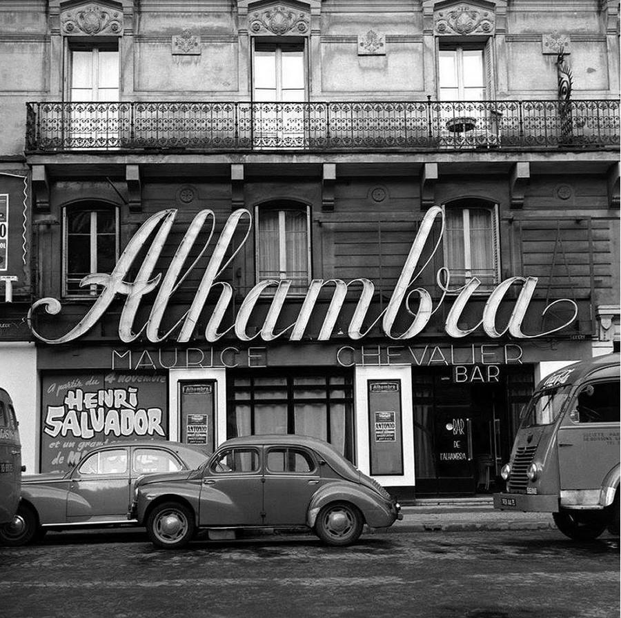 LES CONCERTS DE JOHNNY 'ALHAMBRA DE PARIS 1960' Sans1108