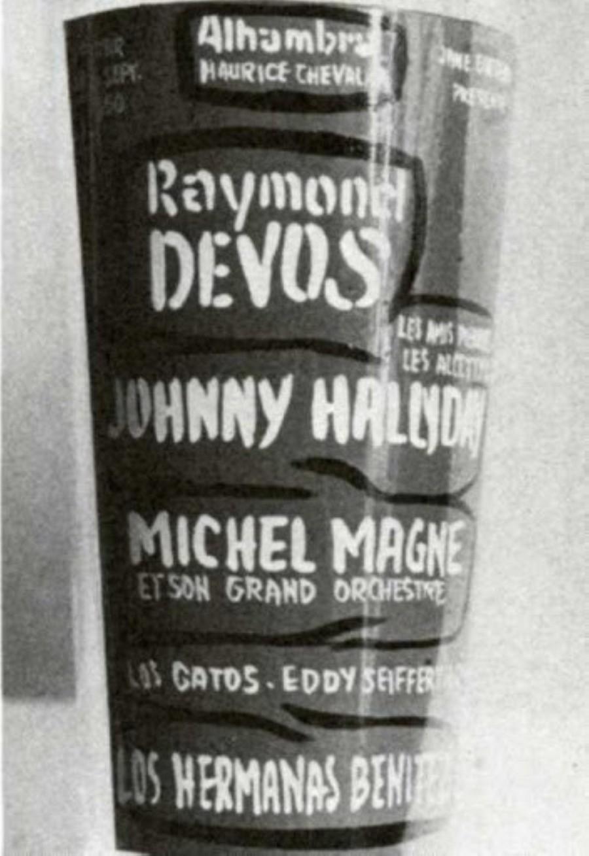 LES CONCERTS DE JOHNNY 'ALHAMBRA DE PARIS 1960' Sans1114