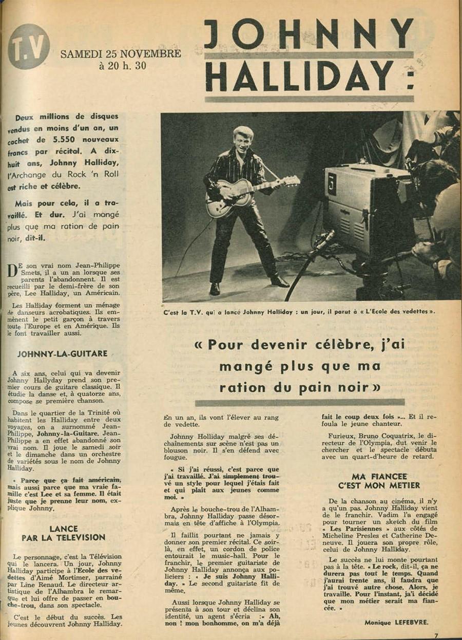 LES CONCERTS DE JOHNNY 'ALHAMBRA DE PARIS 1960' Sans1117